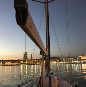 Night Sailing Barcelona