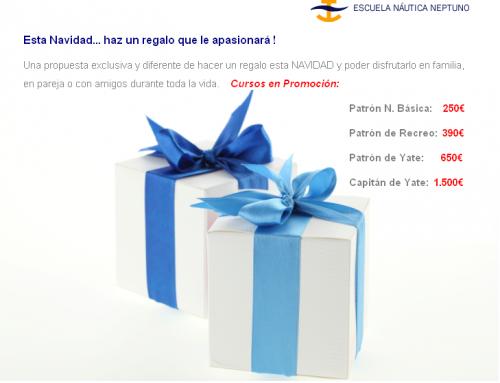Promoción Navidad cursos de náutica 2014