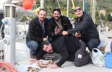 Primeras fotos de la pesca