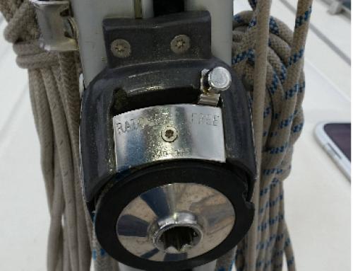 Sistemas del enrollador de la vela mayor