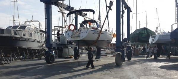 Mantenimiento de embarcaciones
