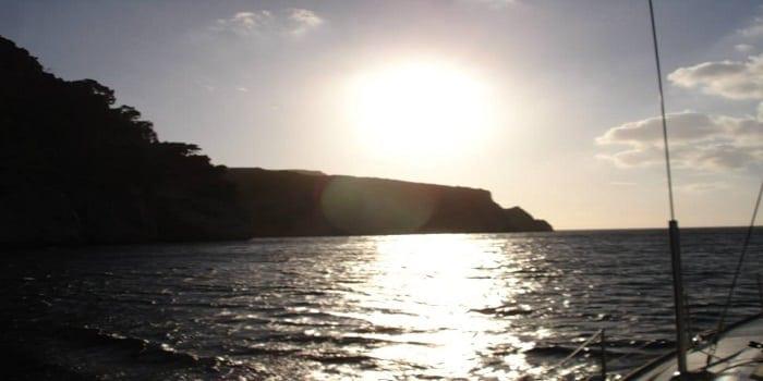 Dos rutas para navegar en el Mediterráneo