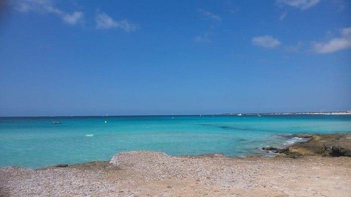 La costa sur de Mallorca ofrece tranquilas rutas para navegar