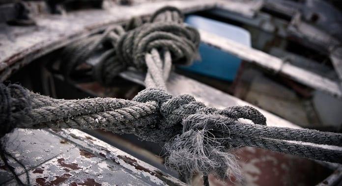 Nudo marinero (detalle) - Fotografía de D. Charlón