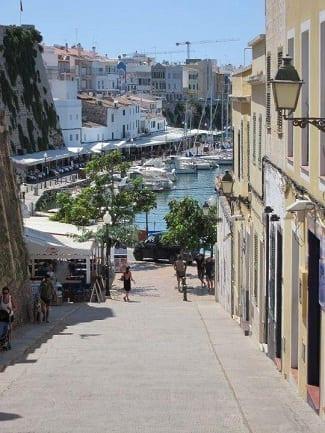 Prácticas de crucero Barcelona-Menorca