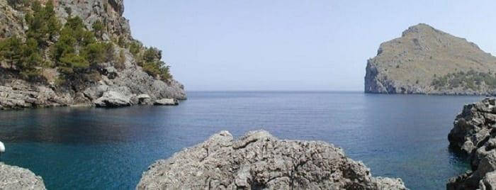 Vistas de Sa Calobra (Mallorca, Islas Baleares)