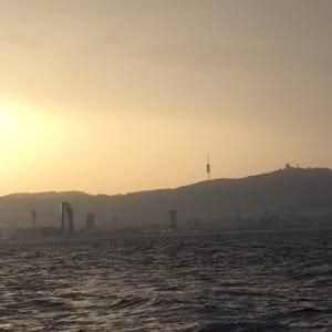 Sunset Barceloneta
