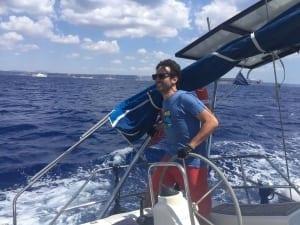 navegando en mallorca