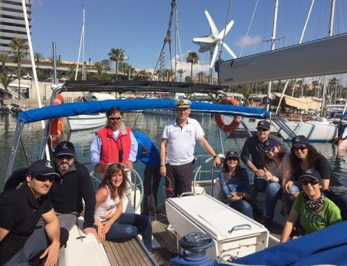 La fiesta de la náutica en Escuela Neptuno