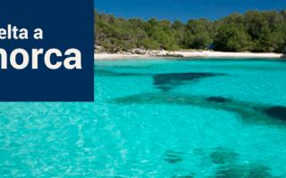 Crucero Vuelta Menorca