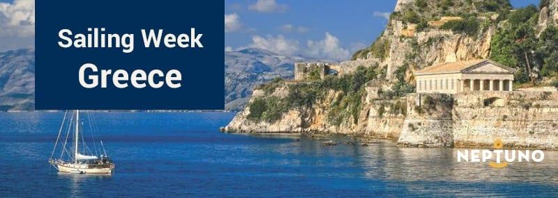Sail training week grecia