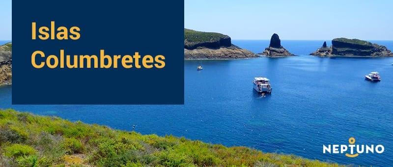 En velero hasta Islas Columbretes