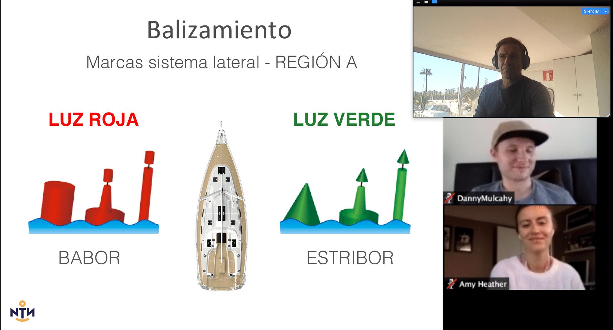 Curso nautico videoconferencia