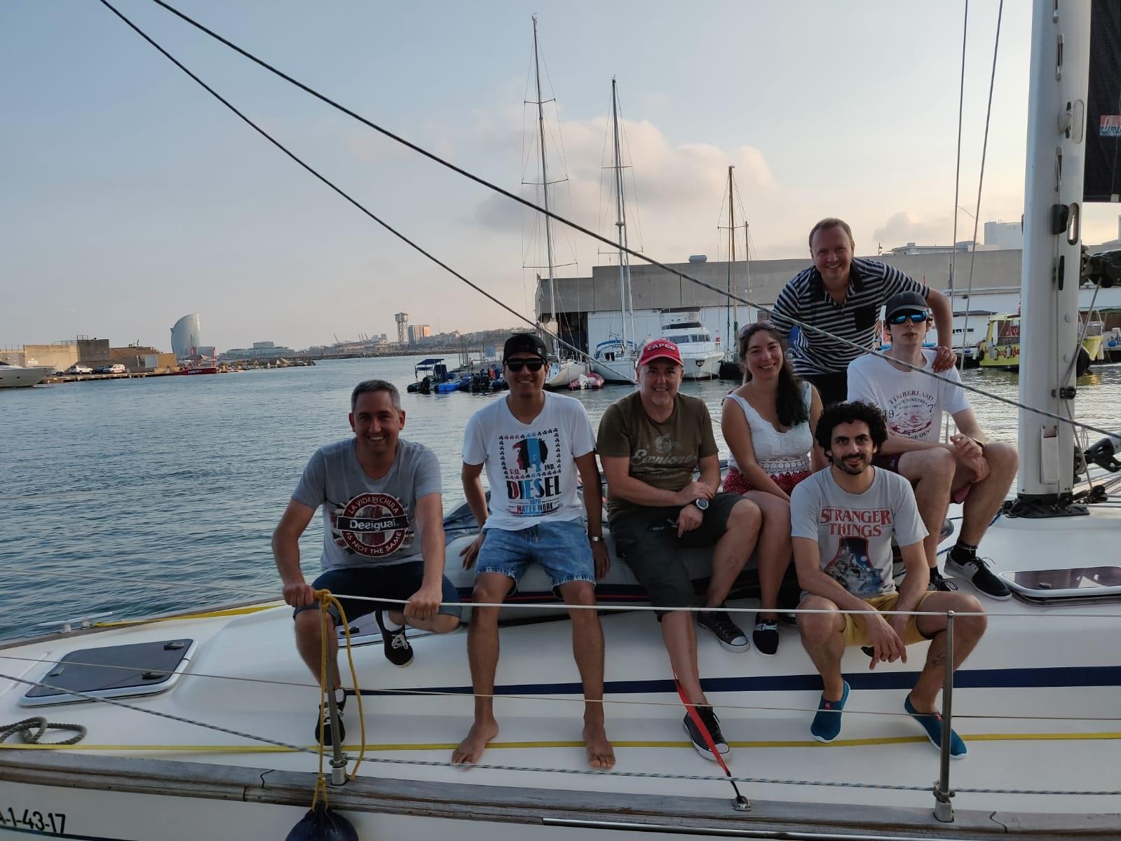 tripulacion per a bordo