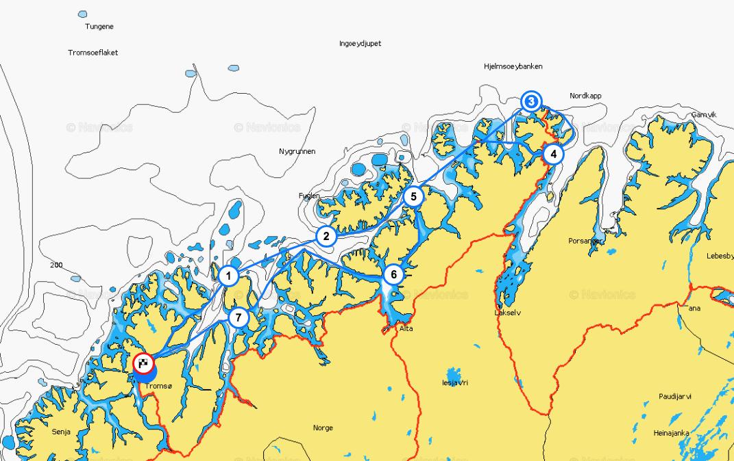 ruta noruega