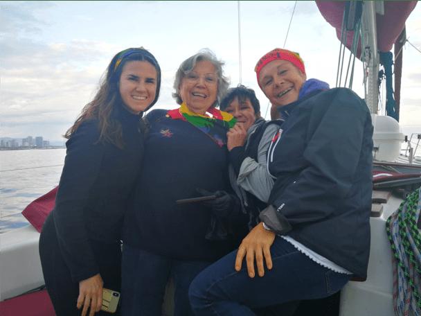 miembros del club de vela neptuno