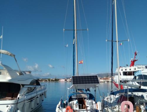 Maniobras en puerto