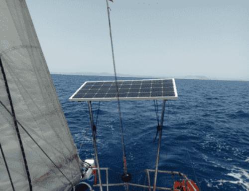 Como instalar paneles solares en un barco