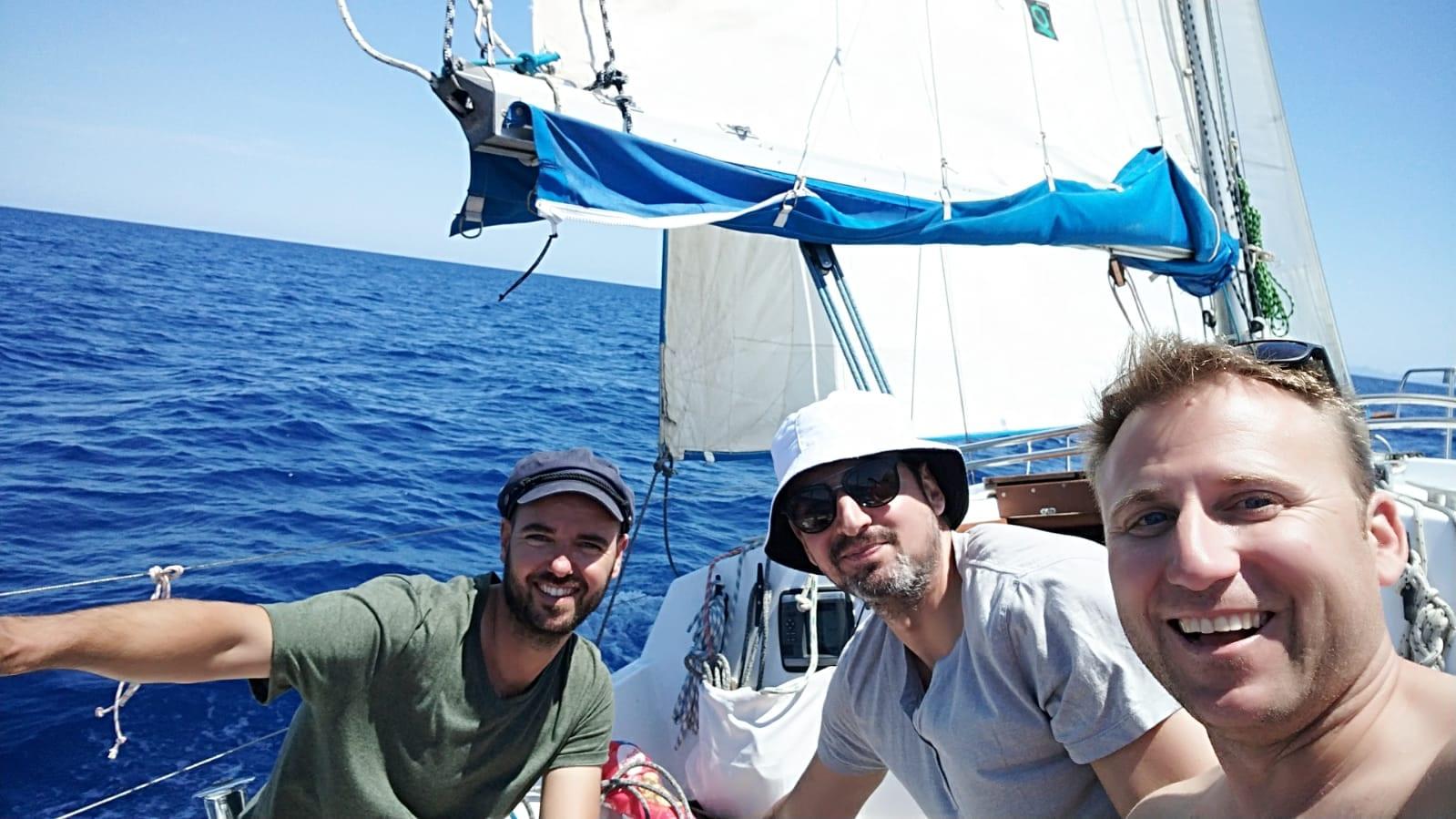 Navegando con amigos
