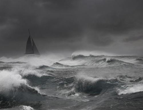 ¿Como navegar a vela con temporal?