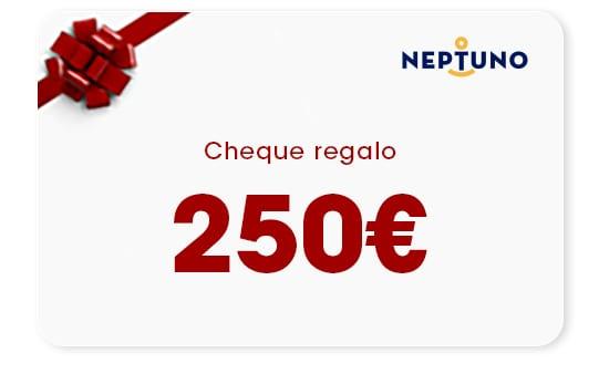 cheque regalo 250 Euros