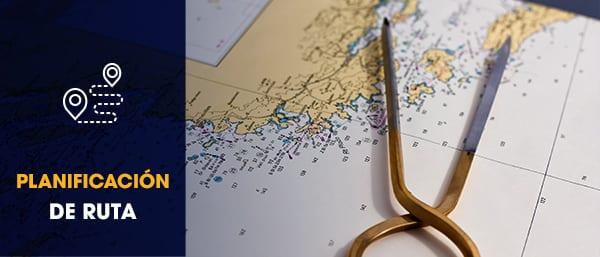 taller de planificar ruta en velero