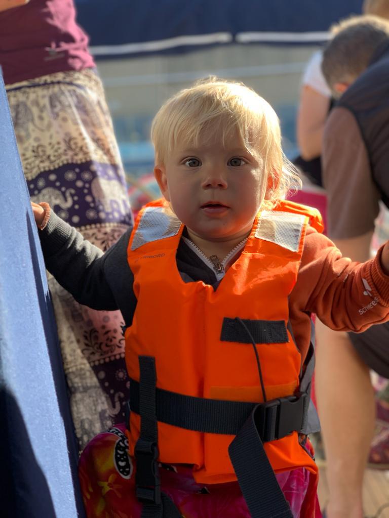 navegar con bebes