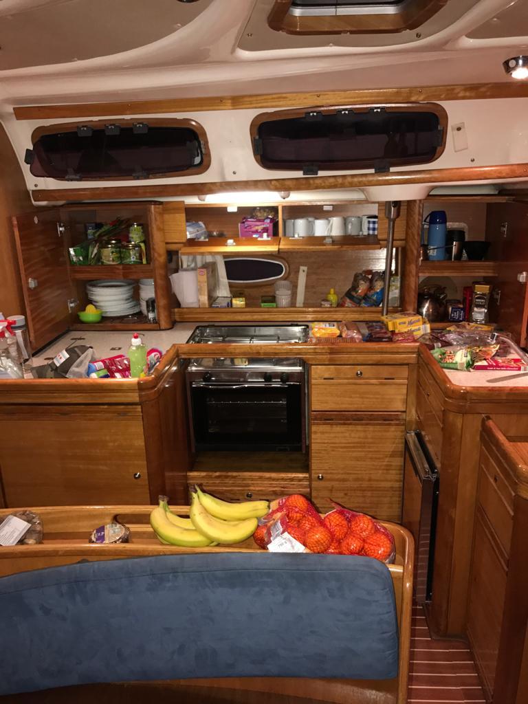 estiba cocina velero