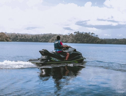Carnet para moto de agua