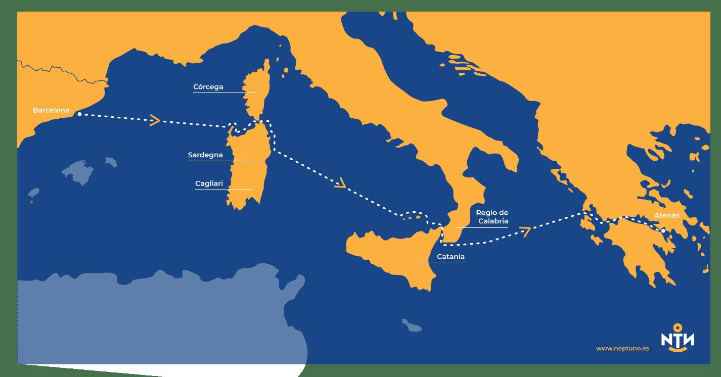 travesia a grecia en velero