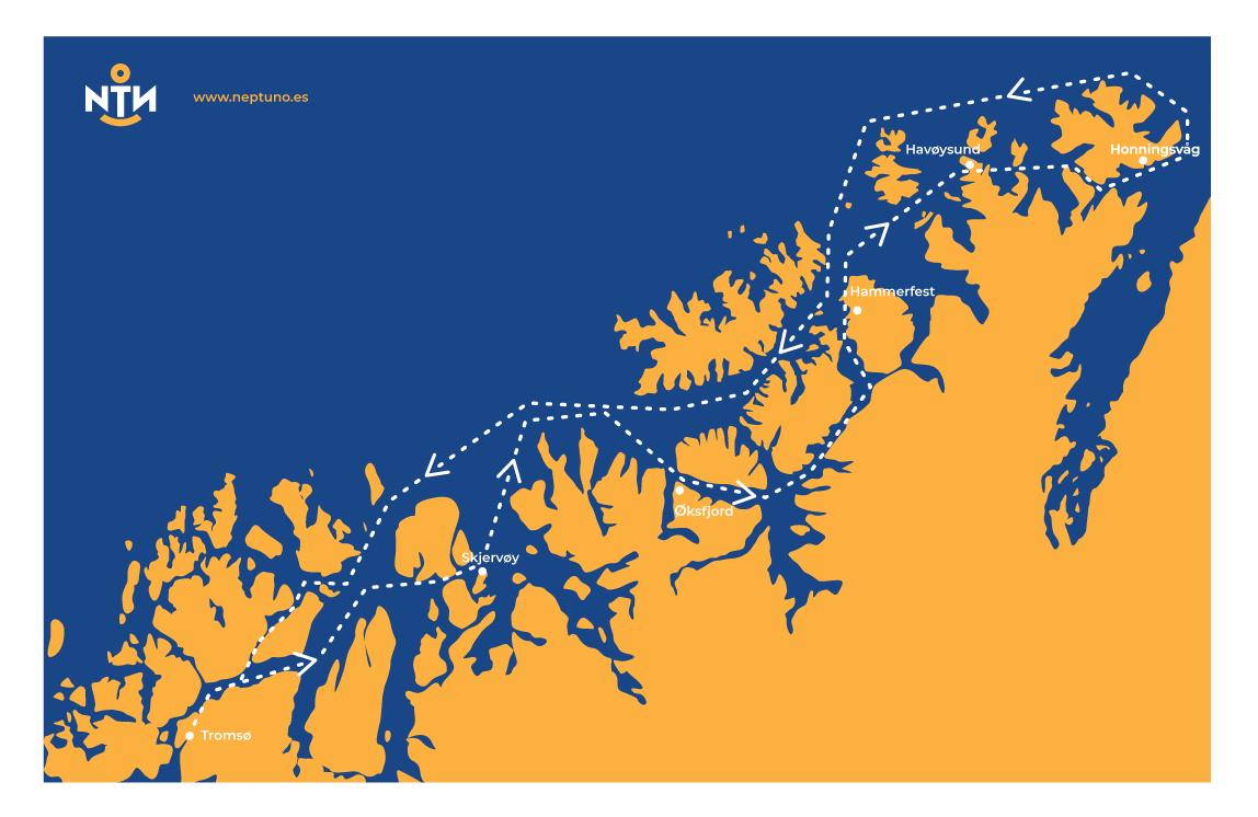 en velero a cabo norte