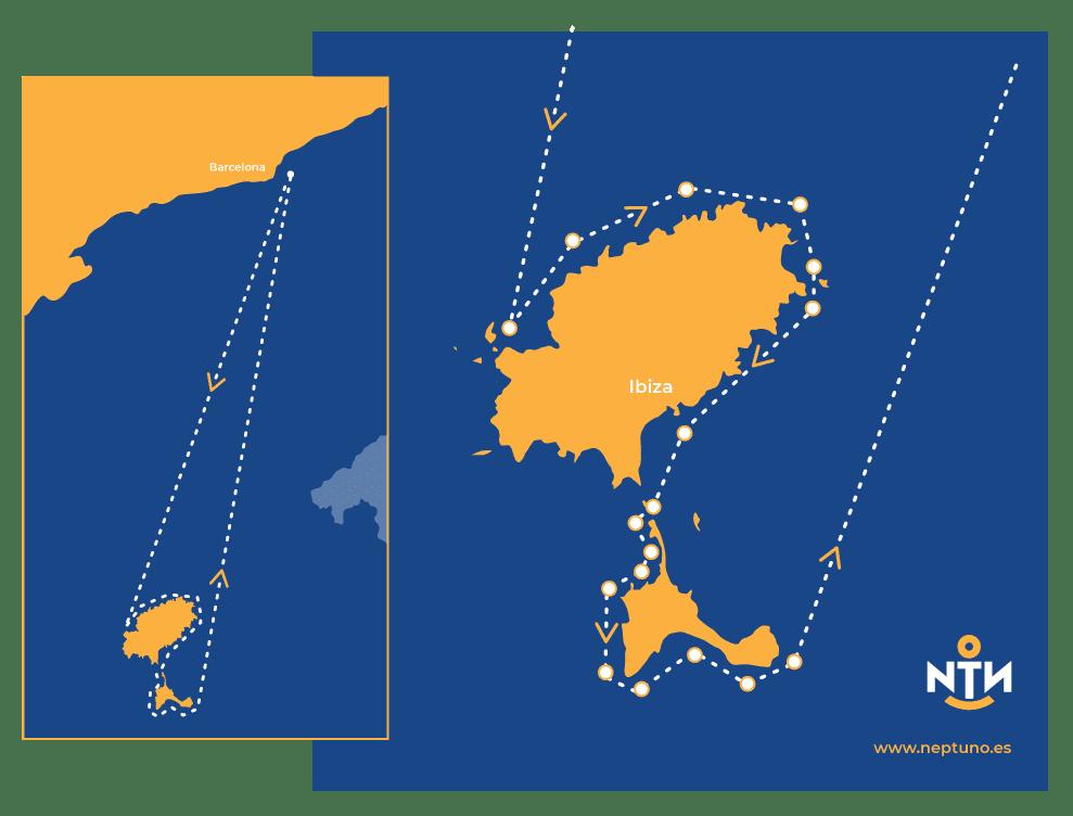 Ibiza en Velero