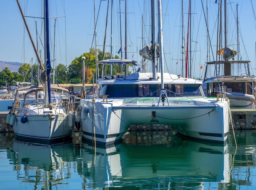 catamaran o velero