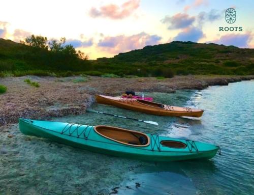 Este verano prueba navegar en Kayak de madera